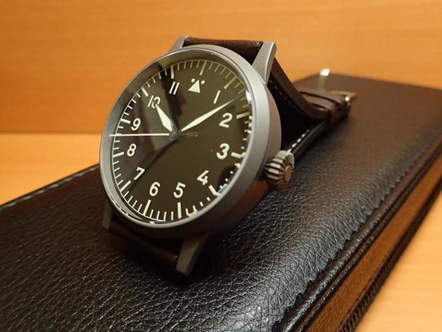 ラコ 腕時計 Laco パイロットウォッチ 861750 Westerland ヴェスターラント 45MM 手巻優美堂のLaco ラコ腕時計はメーカー保証2年つきの正規販売店商品です。