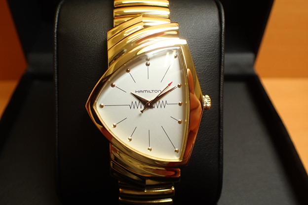 ハミルトン ベンチュラ 【 限定 ★ プレゼントつき 】 メンズ 腕時計 HAMILTON Ventura Classic H24301111 フレックスバンド装着 特別モデル メンズサイズ 優美堂 分割いもOKできますよ。【送料無料】