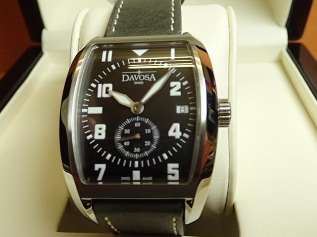 ダボサ 腕時計 DAVOSA Evo 1908 エボ 161.575.56 メンズ 39.5mm 【正規輸入品】緩やかにカーブを描くケースとダイヤルが優美でモダンなトノータイプ