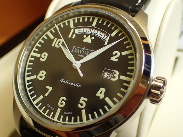 ダボサ 腕時計 DAVOSA Simplex シンプレックス 161.431.56 メンズ 44.2mm 【正規輸入品】信頼性と機能性を追求し到達したシンプルさ