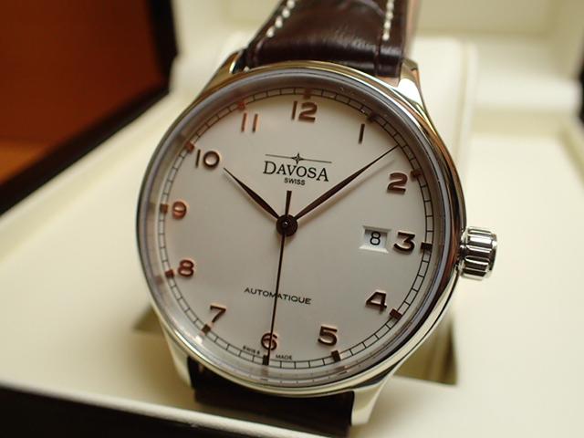 ダボサ 腕時計 DAVOSA Classic クラシック 161.456.65 メンズ 40mm 【正規輸入品】過去の傑作時計に思いを馳せた古典回帰デザイン