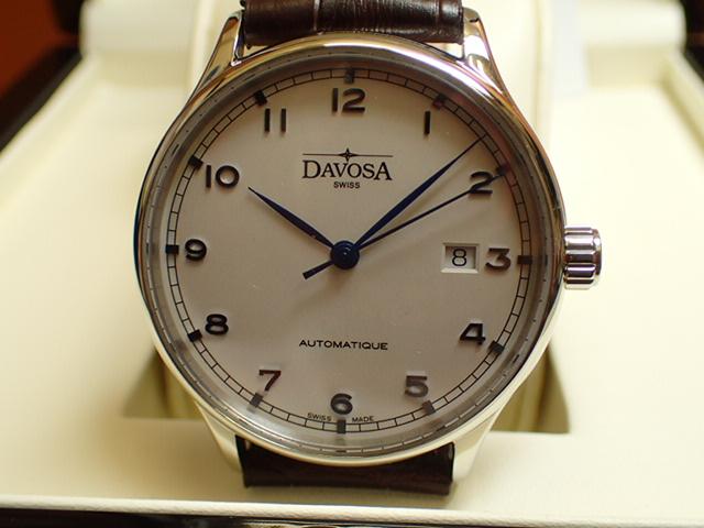 ダボサ 腕時計 DAVOSA Classic クラシック 161.456.15 メンズ 40mm 【正規輸入品】過去の傑作時計に思いを馳せた古典回帰デザイン