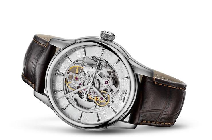 オリス アートリエ スケルトン 腕時計 Oris Artelier 73476704051D 【送料無料】【正規輸入品】
