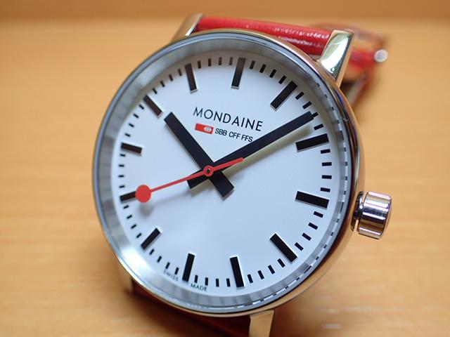 モンディーン 腕時計 エヴォ2 35mm レッドレザー MSE.35110.LC優美堂のモンディーンはメーカー保証つきの正規商品です。