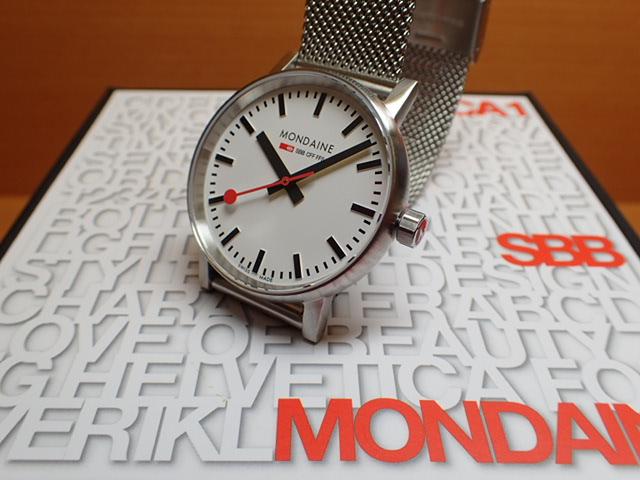 モンディーン 腕時計 エヴォ2 35mm メッシュブレスレット MSE.35110.SM