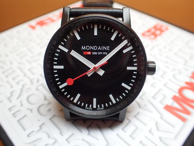 モンディーン 腕時計 エヴォ2 35mm ブラックステッチレザー MSE.35121.LB優美堂のモンディーンはメーカー保証つきの正規商品です。