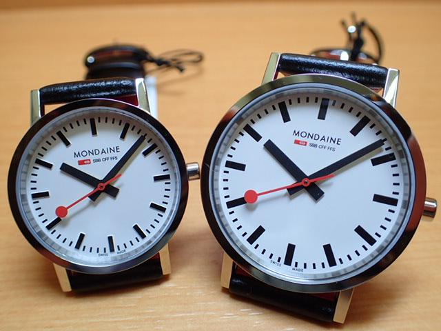 モンディーン ペアウォッチ 腕時計 ニュークラシック 36mm A660.30314.11SBB と 30mm A658.30323.11SBB優美堂のモンディーンはメーカー保証つきの正規商品です。