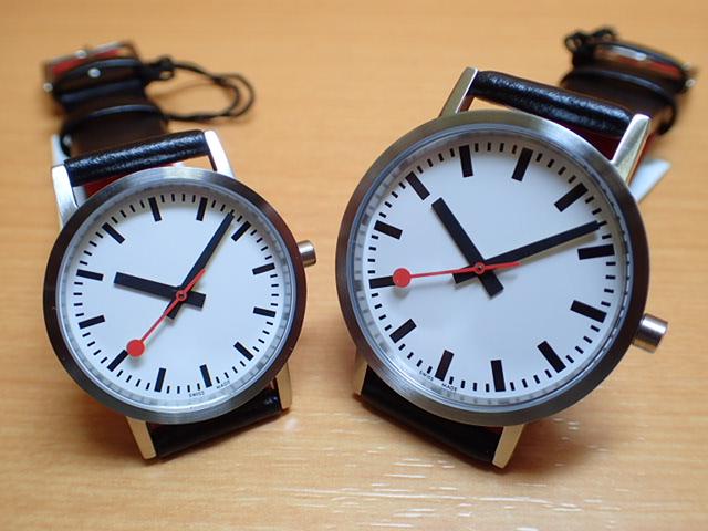 モンディーン ペアウォッチ 腕時計 クラシック ピュア 36mm A660.30314.16OM と 30mm A658.30323.16OM優美堂のモンディーンはメーカー保証つきの正規商品です。