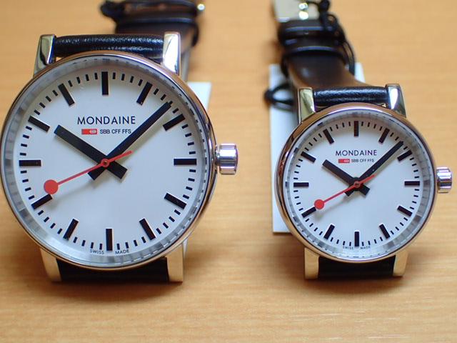 モンディーン ペアウォッチ 腕時計 エヴォ2 35mm MSE.35110.LB と 26mm MSE.26110.LB優美堂のモンディーンはメーカー保証つきの正規商品です。