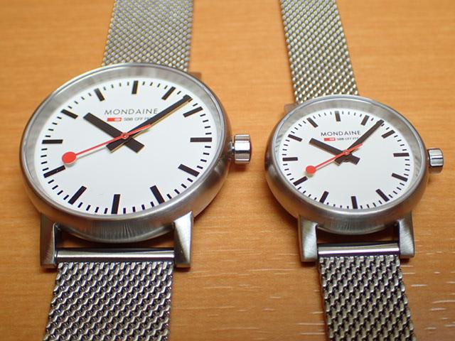 モンディーン ペアウォッチ 腕時計 エヴォ2 35mm 26mmメッシュブレスレット MSE.35110.SM-MSE.26110.SM