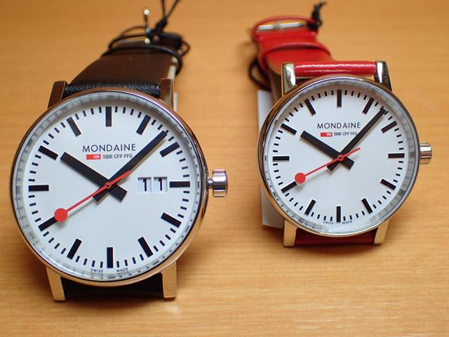 モンディーン ペアウォッチ 腕時計 エヴォ2 ビックデイト 40mm MSE.40210.LB と 35mm MSE.35110.LC優美堂のモンディーンはメーカー保証つきの正規商品です。