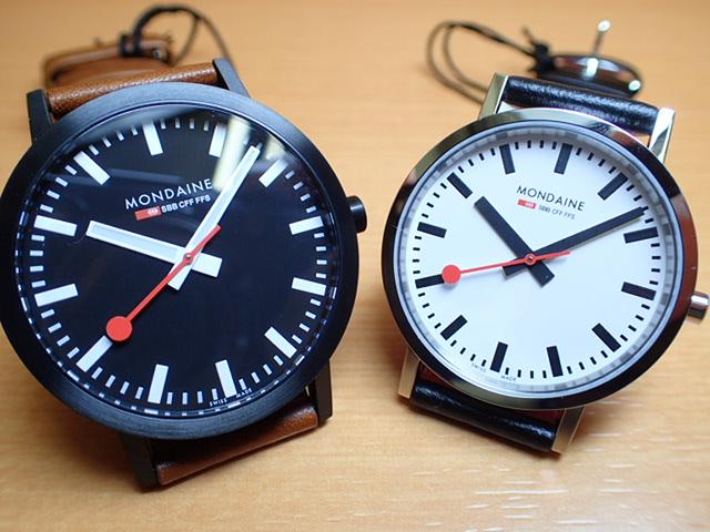 モンディーン ペアウォッチ 腕時計 クラシックシリーズ 40mm A660.30360.64SBG と 36mm A658.30314.11SBB優美堂のモンディーンはメーカー保証つきの正規商品です。