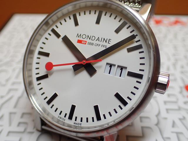 モンディーン 腕時計 エヴォ2 ビックデイト 40mm メッシュ MSE.40210.SM優美堂のモンディーンはメーカー保証つきの正規商品です。