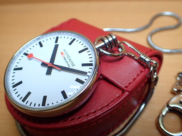モンディーン ポケットウォッチ A660.30316.11SBB優美堂のモンディーンはメーカー保証つきの正規商品です。