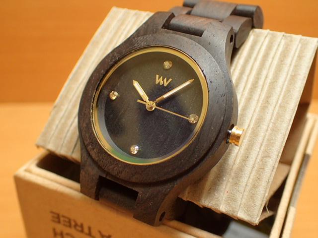 木の腕時計 ウィーウッド WEWOOD 腕時計 ウッド/木製 ANTEA BLACK GOLD 9818179 メンズ 【正規輸入品】