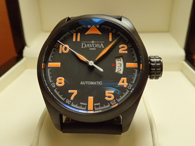 ダボサ 腕時計 DAVOSA Military ミリタリー 161.511.54 メンズ 42mm 【正規輸入品】操作性、視認性を突き詰めたプロフェッショナルウォッチ