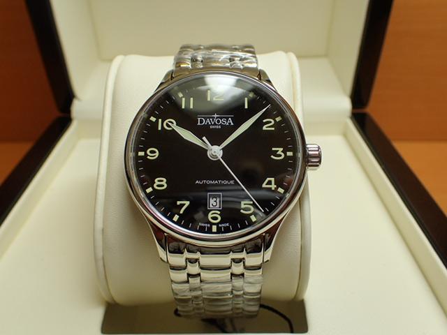 ダボサ 腕時計 DAVOSA Classic クラシック 161.456.50 メンズ 40mm 【正規輸入品】過去の傑作時計に思いを馳せた古典回帰デザイン
