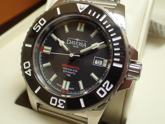 ダボサ 腕時計 DAVOSA Argonautic lumis Colour アルゴノウティック ルミスカラー 161.520.10 メンズ 42mm 【正規輸入品】スーパールミノバと自己発光ガスチューブを併用することで格段の暗所視認性を実現し300メーター防水性能を持つハイスペックダイバーズ