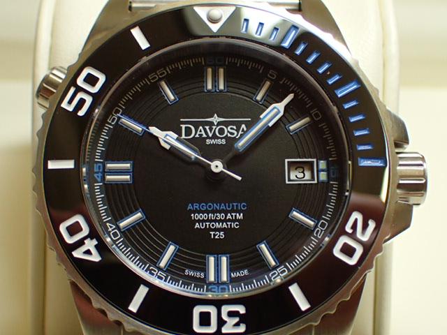 ダボサ 腕時計 DAVOSA Argonautic lumis Colour アルゴノウティック ルミスカラー 161.520.40 メンズ 42mm 【正規輸入品】スーパールミノバと自己発光ガスチューブを併用することで格段の暗所視認性を実現し300メーター防水性能を持つハイスペックダイバーズ
