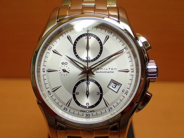ハミルトン 限定 プレゼントつき ジャズマスター オートクロノ HAMILTON 腕時計 H32616153 【送料無料】