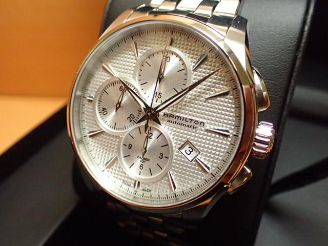 ハミルトン ★ 限定 プレゼントつき ★ ジャズマスター オートクロノ HAMILTON 腕時計 H32596151 【送料無料】