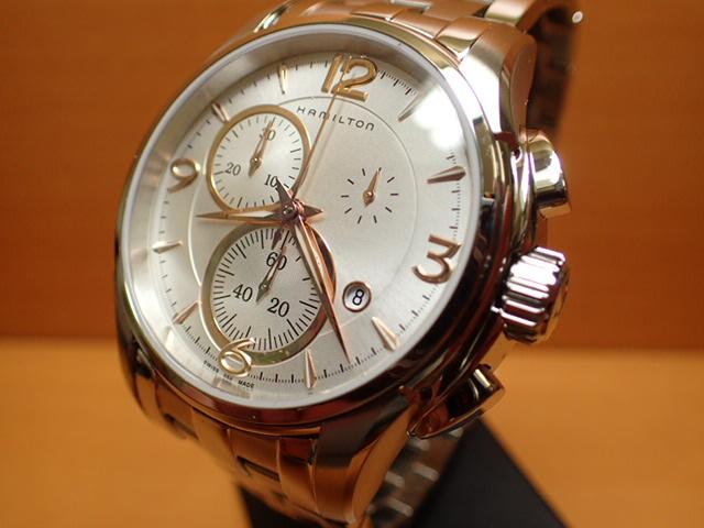 ハミルトン 腕時計 HAMILTON ジャズマスター クォーツ クロノ H32612155 分割払いでどうぞ 【送料無料】