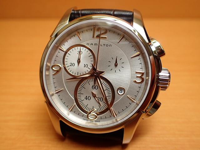 ハミルトン 腕時計 HAMILTON ジャズマスター クォーツ クロノ H32612555 分割払いでどうぞ!【送料無料】