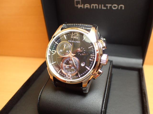 ハミルトン 腕時計 HAMILTON ジャズマスター クォーツ クロノ H32612735【送料無料】