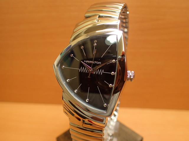 ハミルトン ベンチュラ 【 限定 ★ プレゼントつき 】 メンズ 腕時計 シルバー色 HAMILTON Ventura THE ELVIS WATCH H24411232 フレックスブレスレット 特別モデル メンズサイズ 優美堂 分割いもOKできますよ。【送料無料】