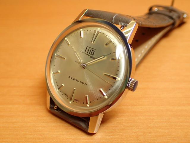 FHB エフエイチビー 腕時計 クラシックフレアーシリーズ Classic Flair Series F908SCS-GY 【正規輸入品】「ヴィンテージベーシック」由緒ある腕時計の基本形。FHBはフェリックス・フーバーの名を冠にして始まった腕時計ブランド。