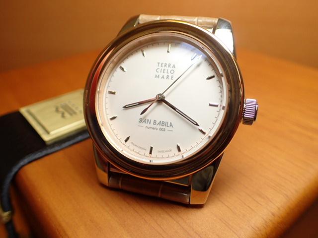 テッラ チエロ マーレ 腕時計 TERRA CIELO MARE MILANO SAN BABILA ミラノ サン バビラ 自動巻き式 Ref.TC7005ACBSAB-W/3