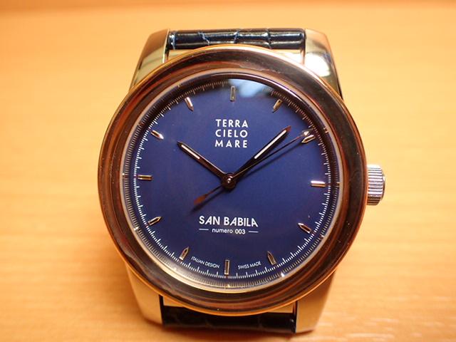 テッラ チエロ マーレ 腕時計 TERRA CIELO MARE MILANO SAN BABILA ミラノ サン バビラ 自動巻き式 Ref.TC7005ACBSAB-B/3
