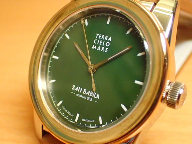 テッラ チエロ マーレ 腕時計 TERRA CIELO MARE MILANO SAN BABILA ミラノ サン バビラ 自動巻き式 Ref.TC7005ACBSANB/35