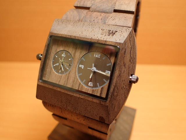 木の腕時計 ウィーウッド WEWOOD 腕時計 ウッド/木製 JUPITER rs CHOCOLATE 9818101 メンズ ツインムーブメント【正規輸入品】