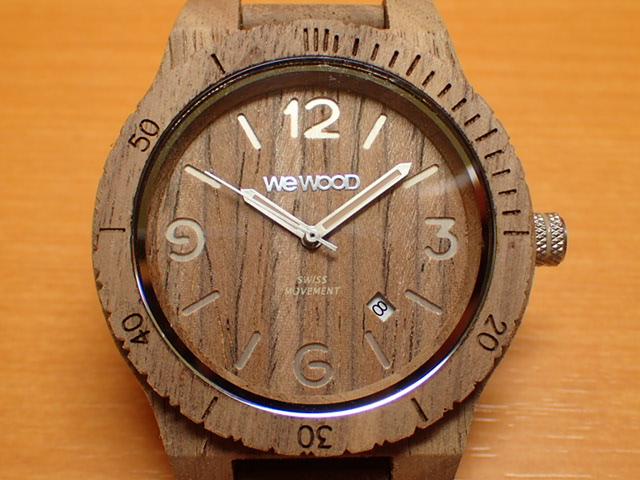 木の腕時計 ウィーウッド WEWOOD 腕時計 ウッド/木製 ALPHA SW NUT ROUGH 9818173 メンズ 【正規輸入品】