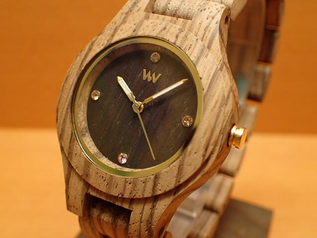ウィーウッド WEWOOD 腕時計 ウッド/木製 ANTEA ZEBRANO CHOCO ROUGH 9818178 メンズ 【正規輸入品】