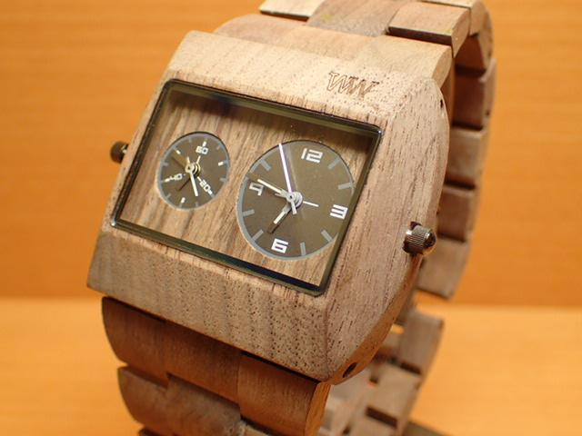 ウィーウッド WEWOOD 腕時計 ウッド/木製 JUPITER rs NUT 9818073 メンズ ツインムーブメント【正規輸入品】