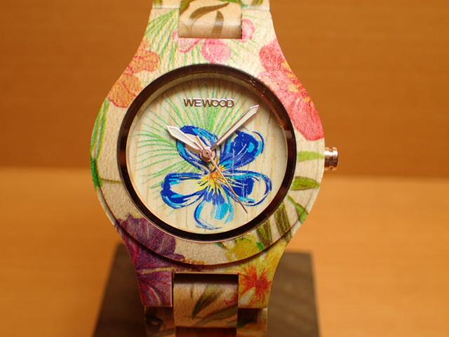 ウィーウッド WEWOOD 腕時計 ウッド/木製 ANTEA FLOWER BEIGE 9818171 レディース 【正規輸入品】