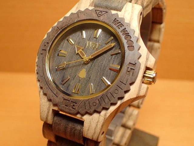 ウィーウッド WEWOOD 腕時計 ウッド/木製 DATE ZEBRANO CHOCO 9818172 メンズ 【正規輸入品】