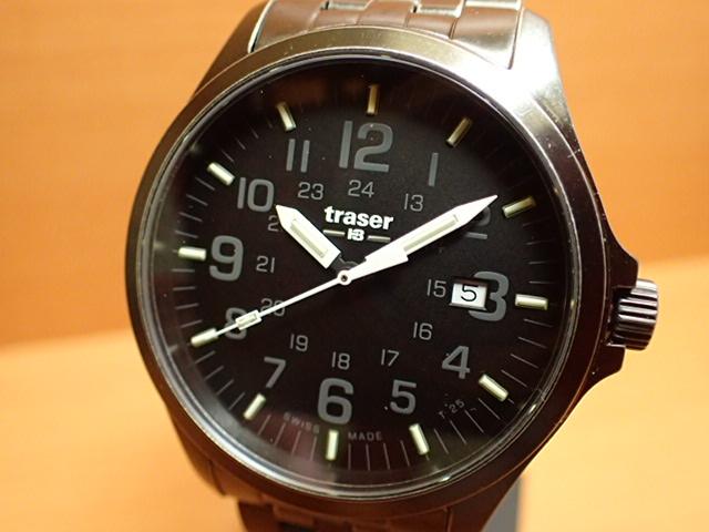 トレーサー腕時計 Traser Officer Gun Black Steel ヴィンテージ加工 9031580 メンズ 【正規輸入品】優美堂の【トレーサー 腕時計】は、国内2年保証のついた日本正規品です。