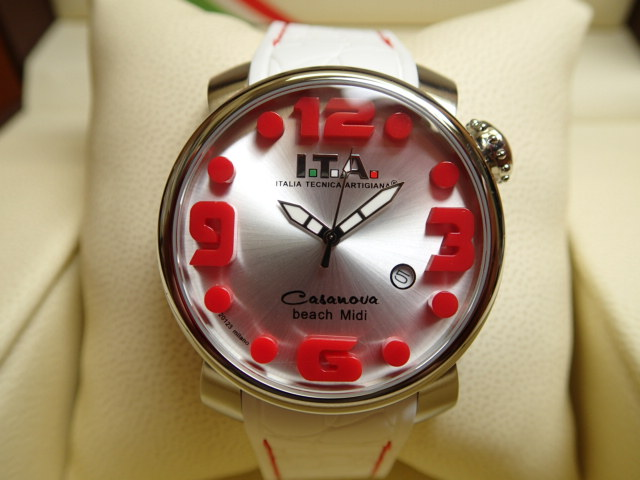 ITA 腕時計 アイティーエー カサノバ・ビーチ ミディ 正規商品 Ref.19.03.14優美堂のI.T.A 腕時計はメーカー保証2年の正規商品です人気シリーズ「カサノバ・ビーチ」のミニサイズ