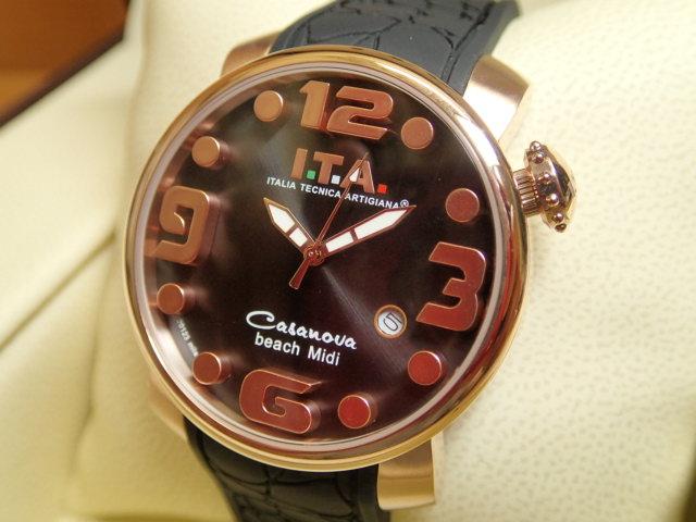 ITA 腕時計 アイティーエー カサノバ・ビーチ ミディ 正規商品 Ref.19.03.16優美堂のI.T.A 腕時計はメーカー保証2年の正規商品です人気シリーズ「カサノバ・ビーチ」のミニサイズ