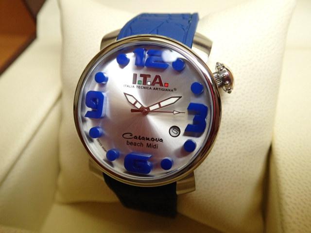 ITA 腕時計 アイティーエー カサノバ・ビーチ ミディ 正規商品 Ref.19.03.13優美堂のI.T.A 腕時計はメーカー保証2年の正規商品です人気シリーズ「カサノバ・ビーチ」のミニサイズ