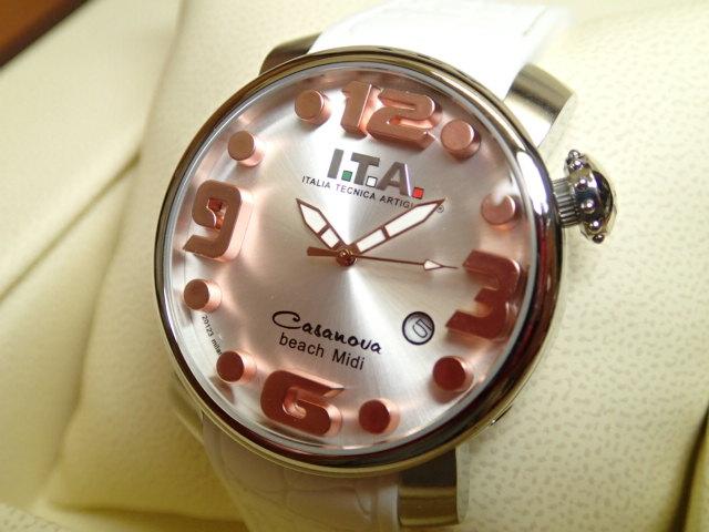 ITA 腕時計 アイティーエー カサノバ・ビーチ ミディ 正規商品 Ref.19.03.12優美堂のI.T.A 腕時計はメーカー保証2年の正規商品です人気シリーズ「カサノバ・ビーチ」のミニサイズ