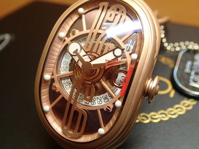 GRIMOLDI グリモルディ腕時計 G.T.O. 交換用バンドつき 腕時計 メンズ GRIMOLDI Gran Tipo Ovale RGMTBR612PK1962年~1964年にわずかに製造されたフェラーリ250GTOにオマージュした腕時計