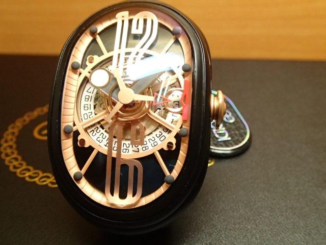 グリモルディ腕時計 G.T.O. 交換用バンドつき 腕時計 メンズ GRIMOLDI Gran Tipo Ovale BKMTBK612PK1962年~1964年にわずかに製造されたフェラーリ250GTOにオマージュした腕時計