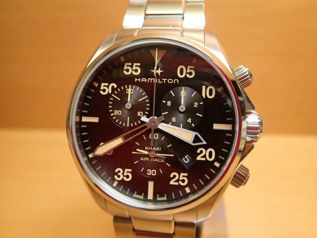 ハミルトン 時計 カーキ パイロット クロノ クォーツ H76722131 メンズ HAMILTON 腕時計 KHAKI PILOT CHRONO QUARTZ 送料無料 正規輸入品 分割払い可