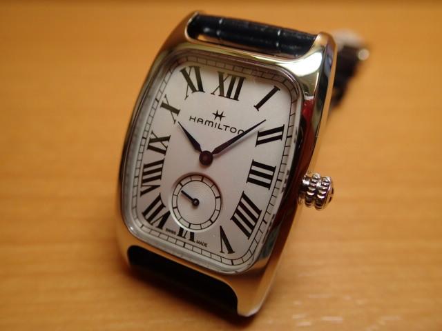 ハミルトン 時計 ボルトン クォーツ アメリカンクラシック HAMILTON Boulton Quartz 送料無料 正規代理店商品 メンズサイズ H13421611