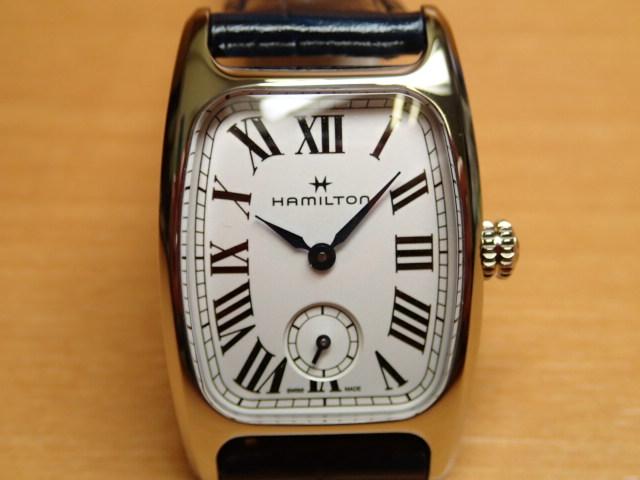 ハミルトン 時計 ボルトン クォーツ アメリカンクラシック HAMILTON Boulton Quartz 送料無料 正規代理店商品 レディースサイズ H13321611