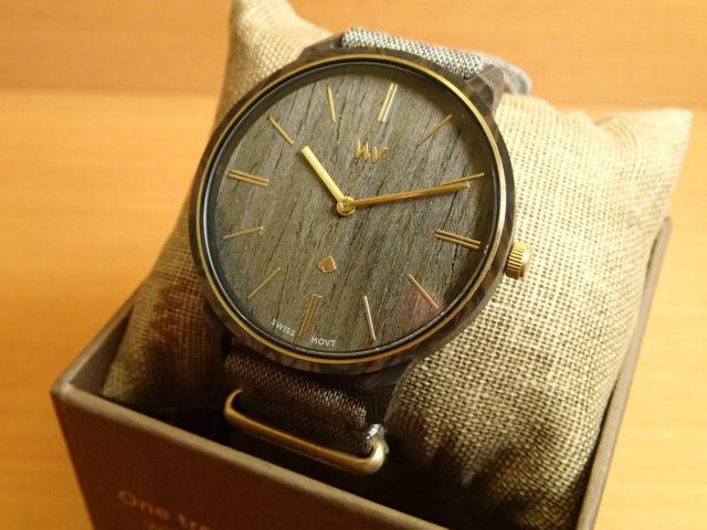 ウィーウッド WEWOOD 腕時計 ウッド/木製 IRIS BLACK ROSE 9818188 ボーイズサイズ 38mm 【正規輸入品】